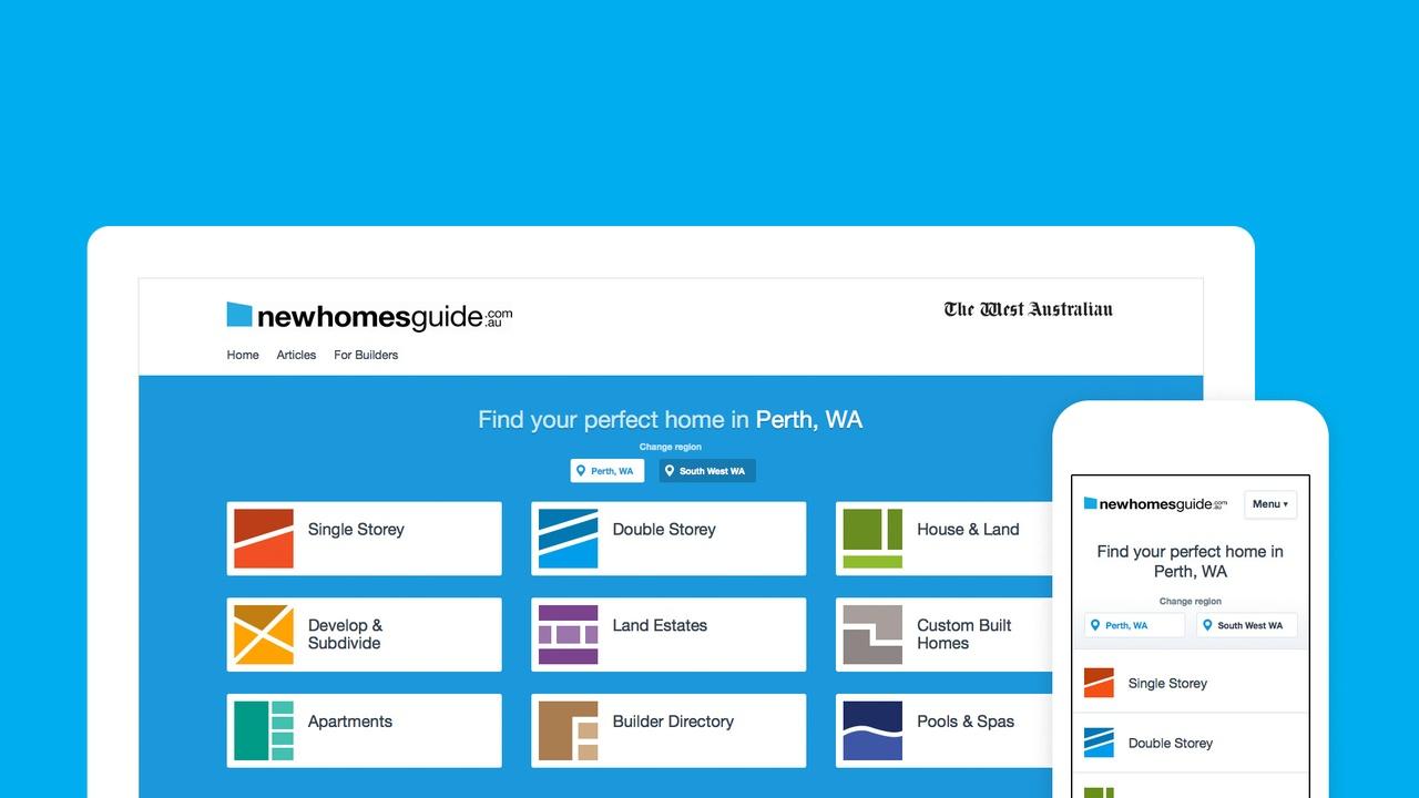 Website - Home Page on Desktop & Mobile