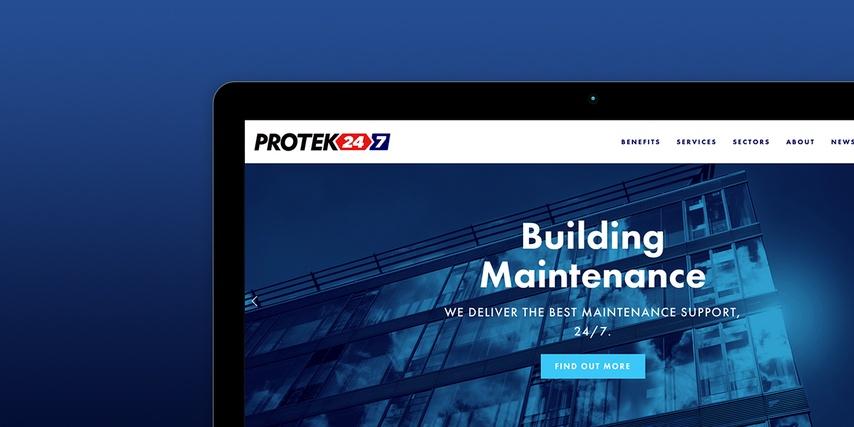 Protek 247 - Website
