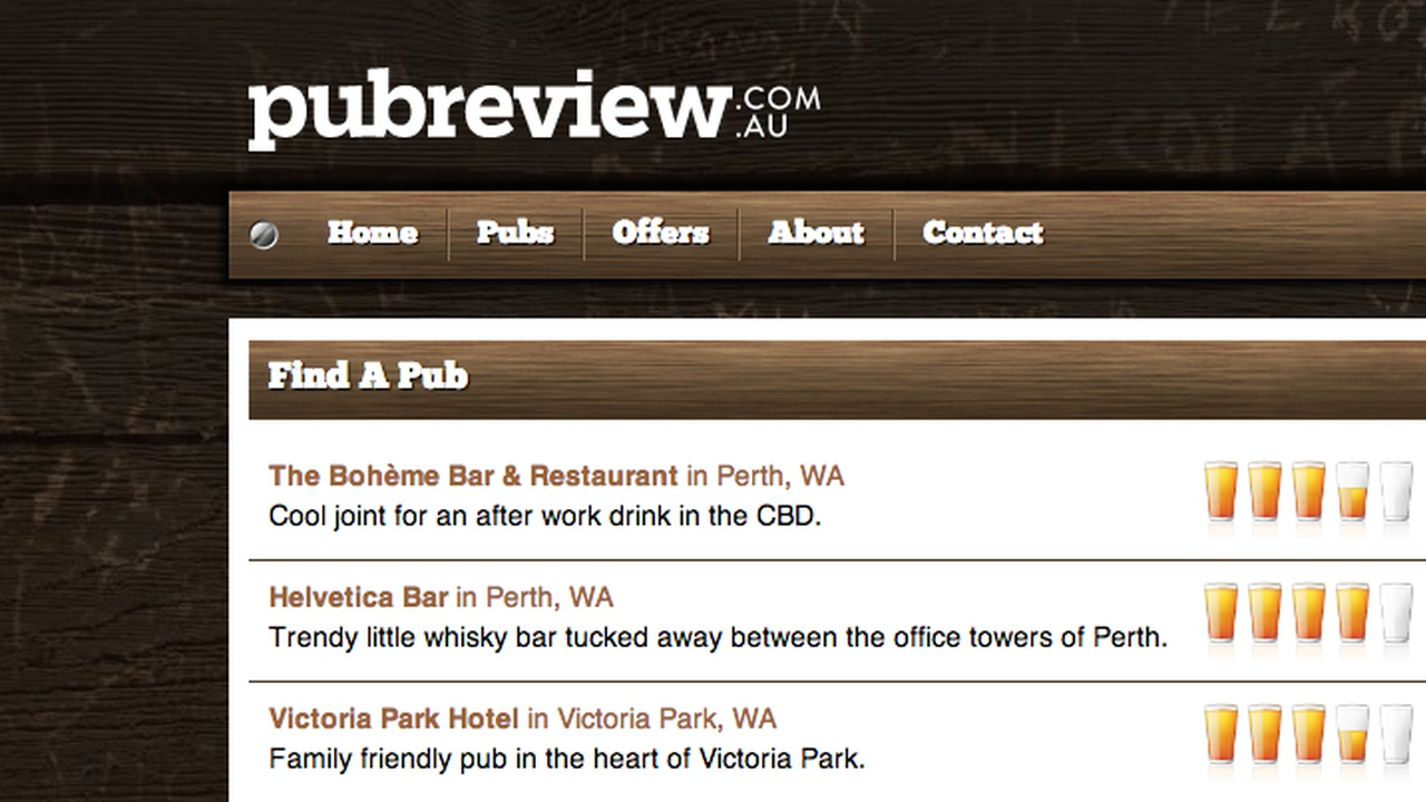 Pub Review