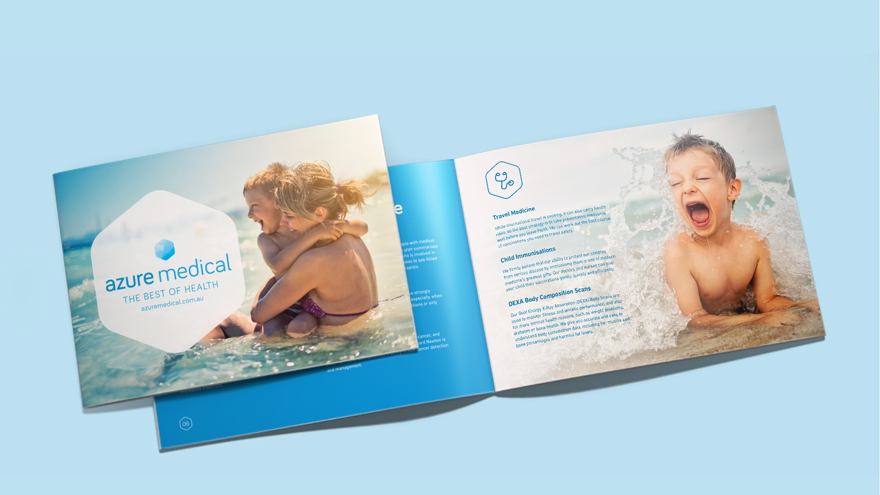 Corporate profile brochure