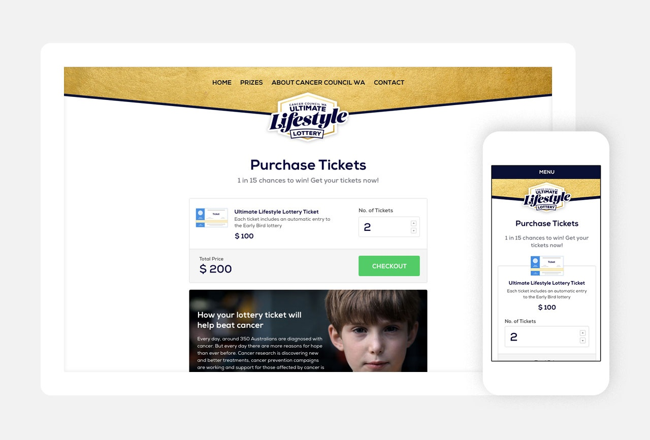Purchasing tickets online - simple, intuitive and secure