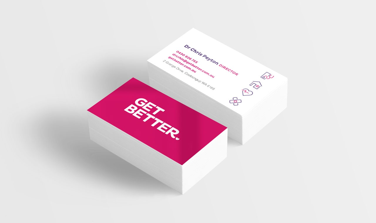 Get Better business cards