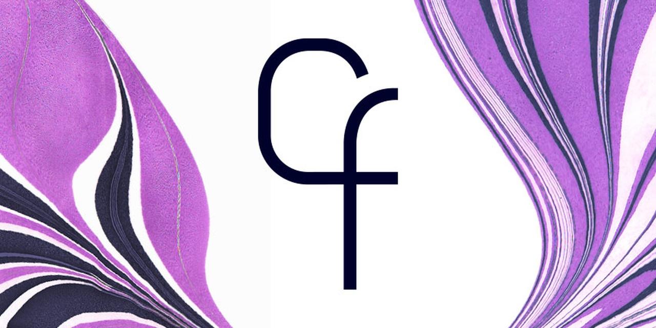 Logo avatar and swirls