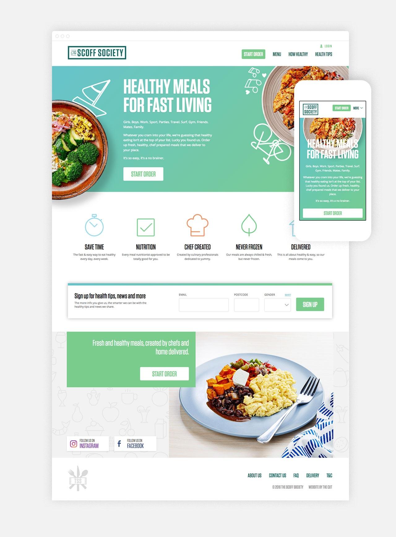 One tasty lookin' Homepage