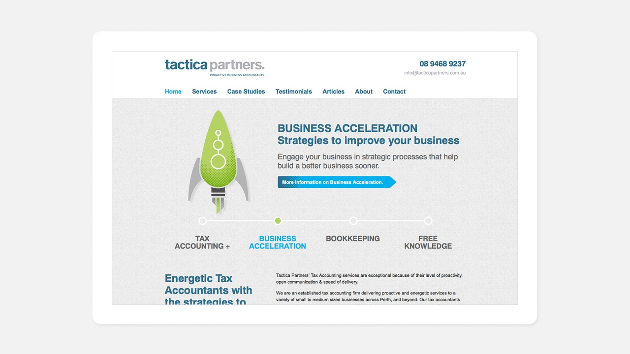 Articles - Tactica Web Page