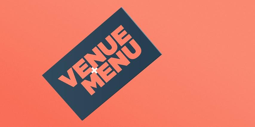 Venue Menu - Branding