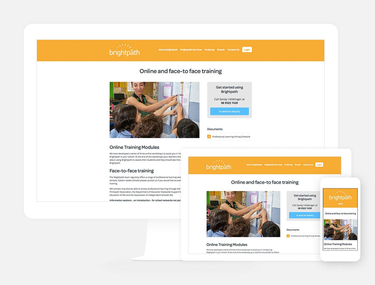 Fully responsive page templates