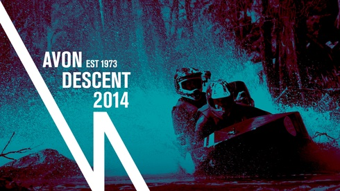 Logo design for the iconic Avon Descent