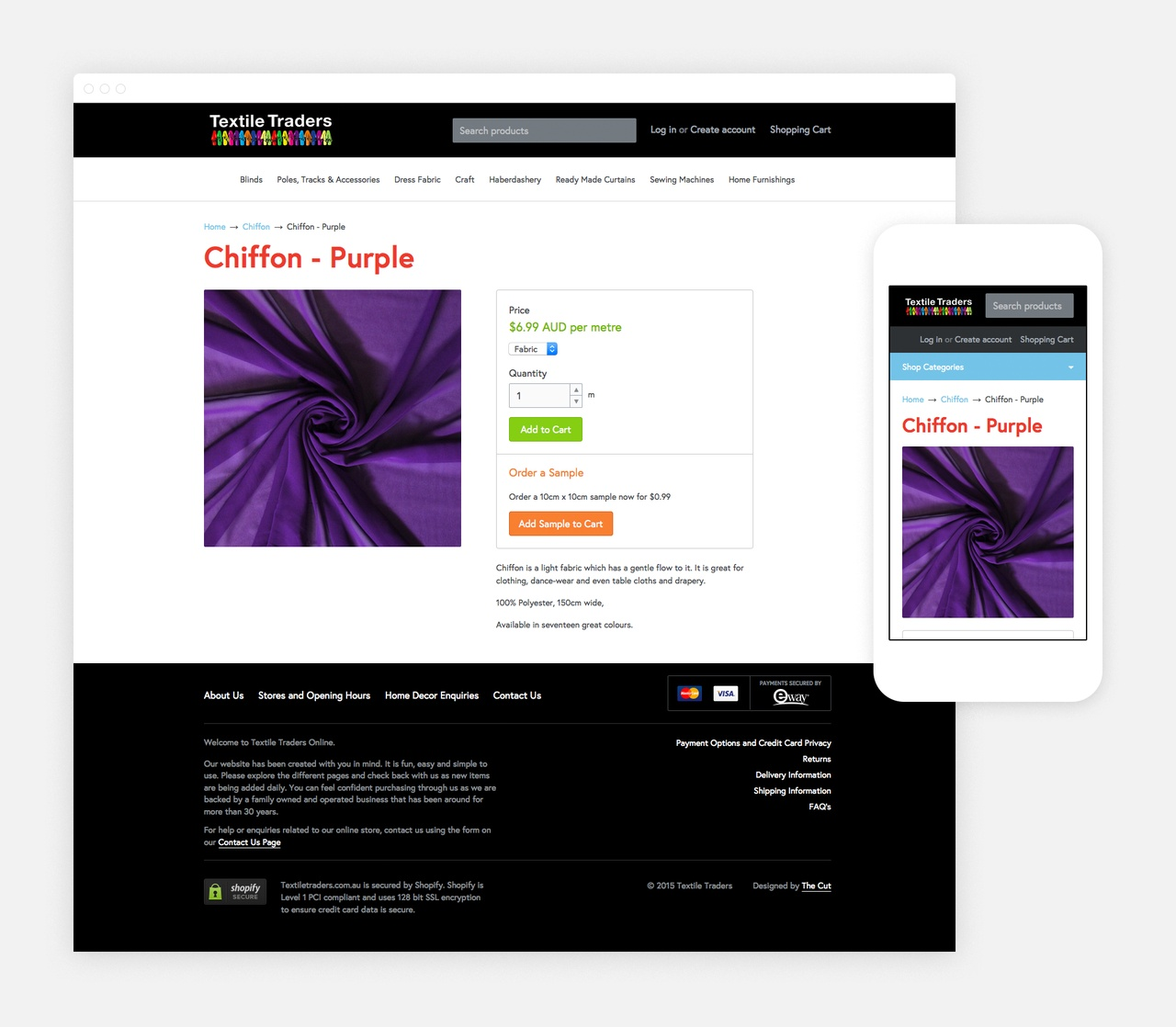 Product Information Page