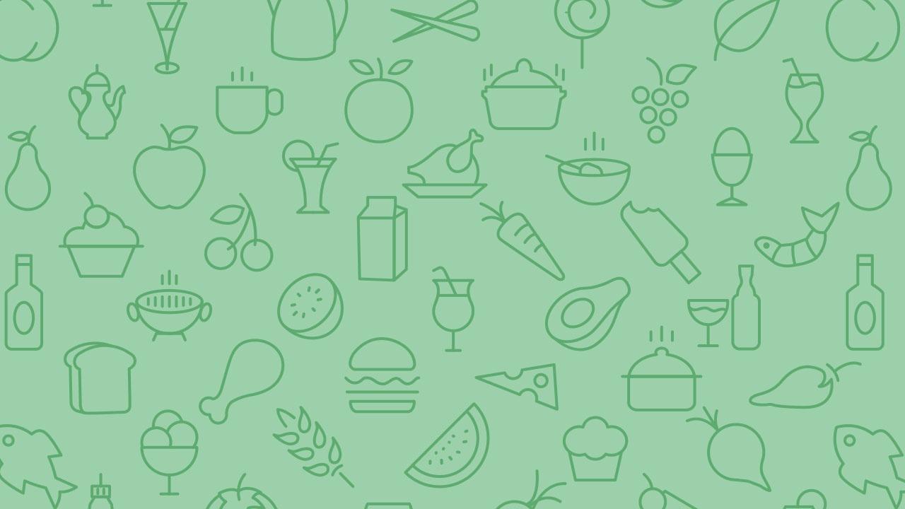 Foodie-yum-yum brand pattern